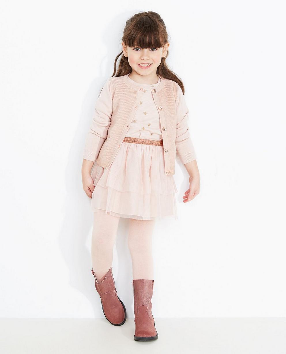 Cardigan rose pâle - Prinsessia - Prinsessia